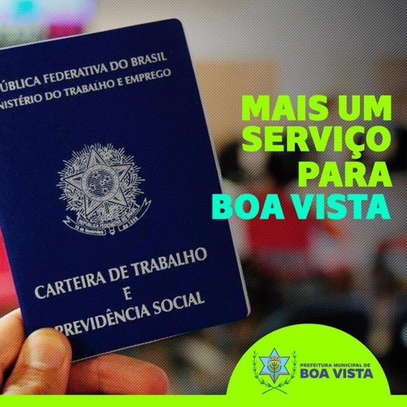 Prefeitura de Boa Vista assina acordo com Ministério do Trabalho para emissão de documentos
