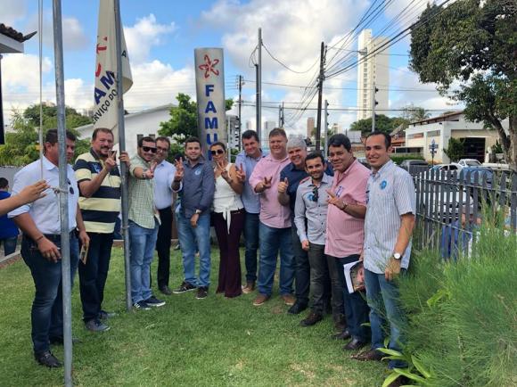 Prefeito de Boa Vista, André Gomes, toma posse como vice-presidente da FAMUP no dia 07