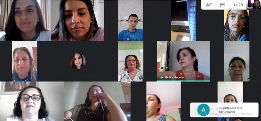 Secretaria de educação de Boa Vista realiza encontro virtual da Educação Infantil