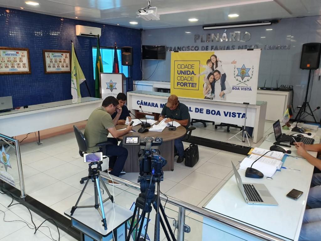 Boa Vista passa a transmitir ao vivo todas as licitações realizadas pela Prefeitura
