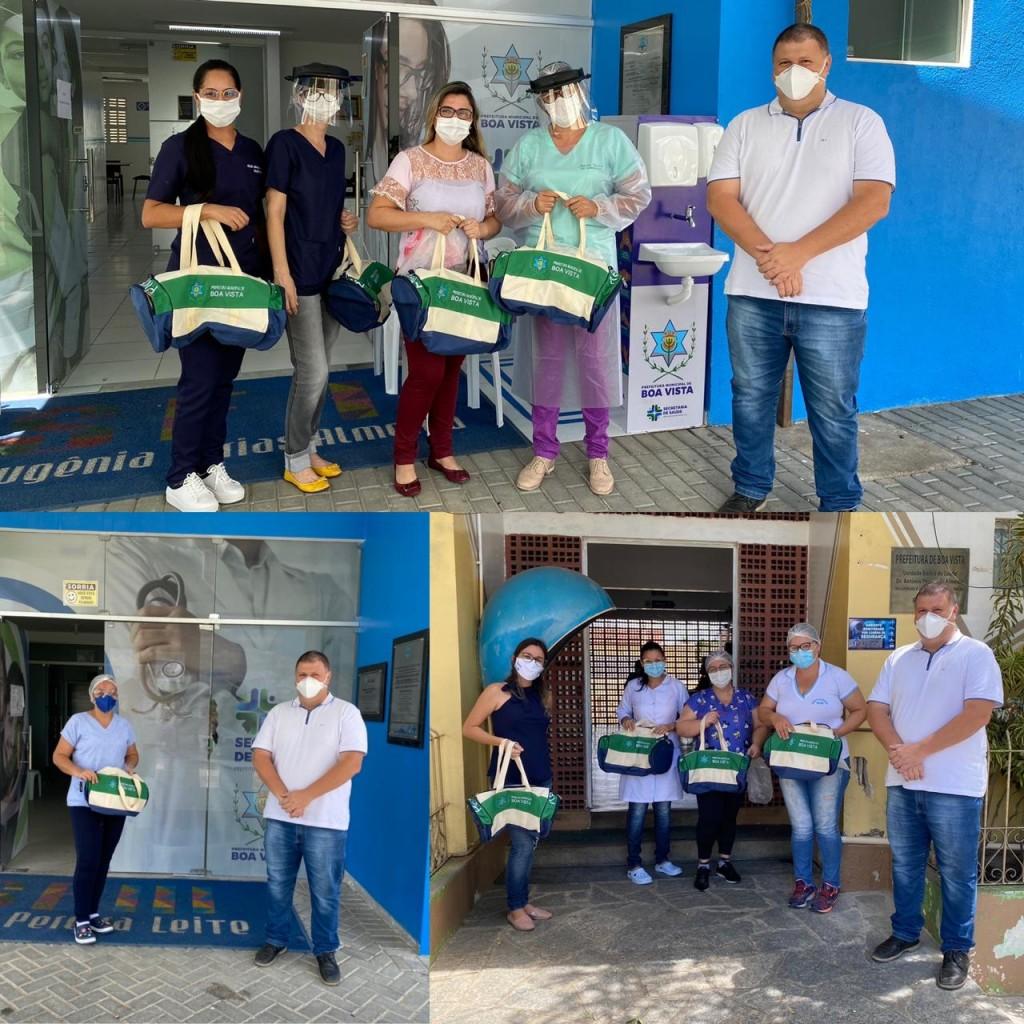 Na linha de frente da pandemia, trabalhadores da enfermagem são homenageados pela administração municipal