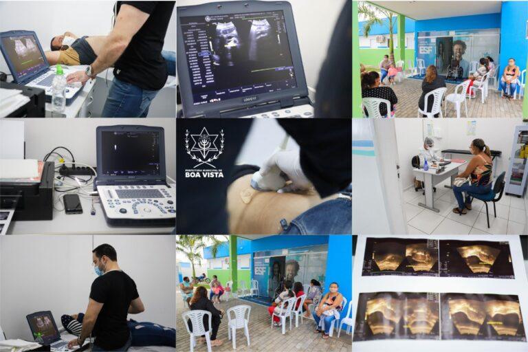 Mutirão de ultrassonografia zera fila de espera em Boa Vista