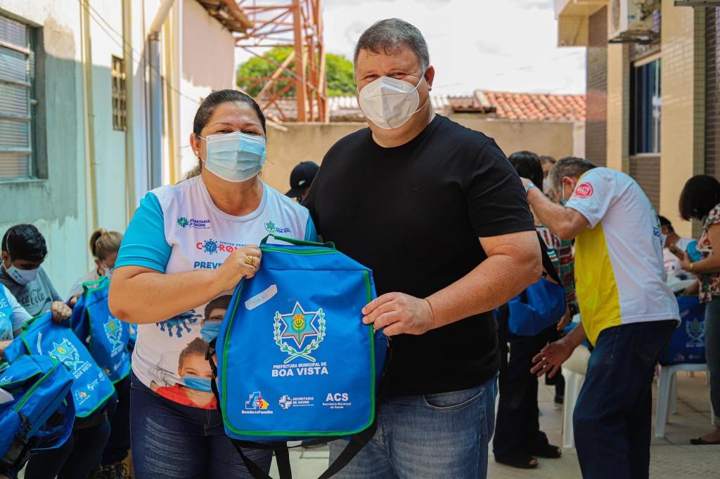 Agentes de Saúde recebem novos kits de trabalho e proteção