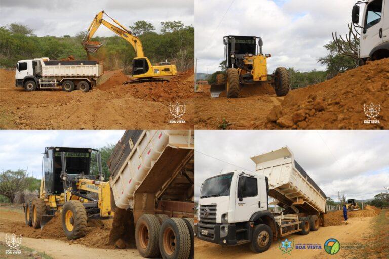 Programa intensifica recuperação das estradas vicinais